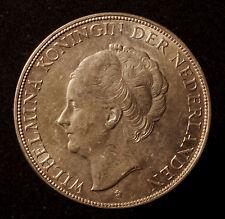 Kgr. Niederlande, Wilhelmina, 2 1/2 Gulden 1930