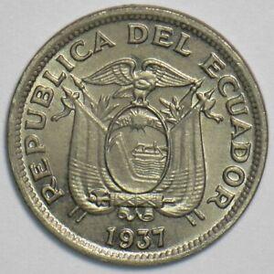 Ecuador 1937 5 Centavos 240748 combine shipping