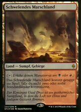 Smoldering marismas hoja / pantano de smoldering | NM | Batalla de _Zendikar_. GER