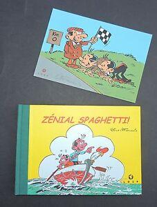 ATTANASIO Zénial Spaghetti Loup 2000. TIRAGE DE TETE ex. HC avec dessin original