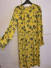 H&M Floral Yellow Dress, Size 32 (4 UK)