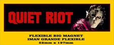 QUIET RIOT Metal Health FLEXIBLE BIG MAGNET IMÁN GRANDE A0102