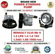 New POWER STEERING PUMP for RENAULT KANGOO MPV 1.2 1.4 1.6 16V 1.5dCi 1997->on
