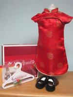 NEW American Girl Ivy New Years Outfit Complete-Retired/NIB