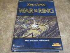 Lord of the Rings: War Of The Ring Strategy Battle Game Manual - Warhammer Hard