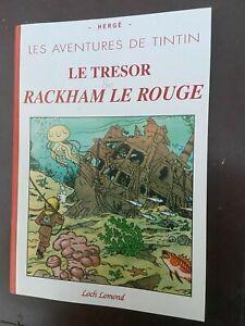 Tintin - Album Le trésor de Rackham le Rouge avec les strips du Soir - NEUF!!!