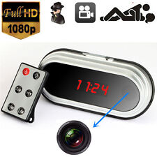 Full HD 1080P HDMI Alarm Clock Spy Camera Cam Motion DVR Digital Video Record US