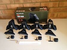 Halfords Exodus Foot Pack FP4....  WITH Locks & Keys....Thule 754....750
