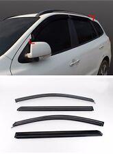 Smoke Window Visor Vent Wind Rain Shield 4p For 2007 2010 Hyundai Santa Fe CM