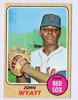1968 Topps #481 John Wyatt Boston Red Sox Baseball Card