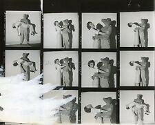 BEVERLY GARLAND LON CHANEY ALLIGATOR PEOPLE 1959 CONTACT SHEET PHOTO ORIGINAL #3