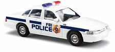 Busch 1/87 HO Scale Ford Crown Victoria FBI POlice 49001