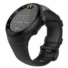 Black Watch Band for Smart Metal Sunto Core Watch Band Classic Soft Wrist Strap