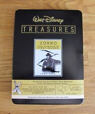 WALT DISNEY TREASURES ZORRO THE COMPLETE FIRST SEASON COLLECTIBLE LIMITED SERIES