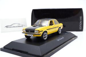 #450329600 - Schuco Opel Ascona SR - gelb/schwarz - 1:43