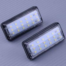2x 18 LED Kennzeichen beleuchtung Kennzeichenleuchten für Toyota J100 Lexus