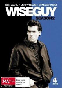 WISEGUY Season 2 Ken WAHL Stanley TUCCI TV Series (4 DVD BOXSET) NEW R4 Wise Guy
