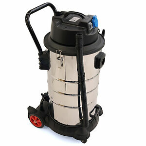 Industriesauger, 60 Liter / 1400 W, Nass-Trockensauger Sauger, Baustellensauger