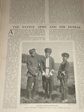 1903 INDIAN ARMY INFANTRY HYDERABAD BENGAL AND DOGRAS DURBAR DELHI