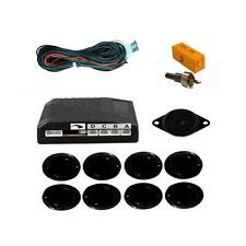 8 Point Reverse Parking Sensor Kit Front & Rear With Display Aid Universal Fit