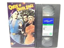 3C VHS QUEEN OF OUTER SPACE Zsa Zsa Gabor Campy Sci-Fi Classic