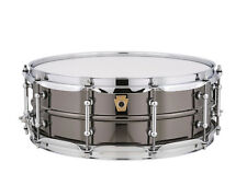 Ludwig 5x14 Black Beauty Brass Snare Drum, Tube Lugs and SKB - LB416T w/ SKB
