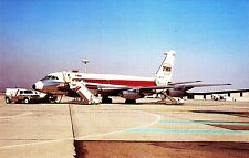 Trans World Airlines ( TWA ) , Convair 880 , Ansichtskarte