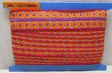 Vintage Talon Cloth Fancy Ribbon #A4090 W. Germany Cotton 12 Yards Lace Winder