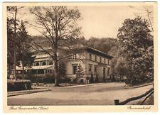 AK, Bad Freienwalde Oder, Brunnenhotel, um 1930