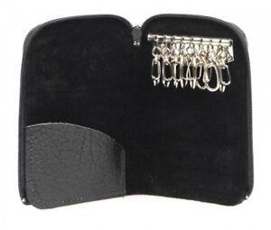 Golunski Z8 Leather 8 Hook Zipped Key Case.