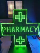 100x100 LED CROSS PHARMACY UK !! Programmable !! Display Message Scrolling Sign