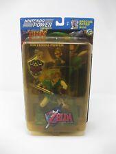 "Legend Of Zelda ""LINK"" Action Figure Ocarina of Time 2003 Nintendo Power Joyride"