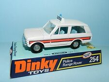 DINKY TOYS 254 POLICE RANGE ROVER MINT ON CARD BASE