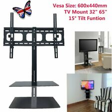 tv wall bracket with shelves for sale ebay rh ebay co uk