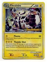 Electivire 20/102 Holo Prerelease HS Triumphant Pokemon Card NM+