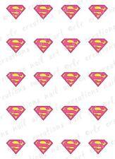 20- Nail Decals * SUPER WOMAN * SUPER HERO Water Slide Nail Art Decal COMIC BOOK