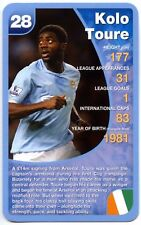 Kolo Toure - Manchester City Football Club Specials Top Trumps Card (C461)