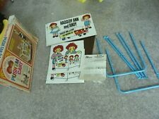 RAGGEDY ANN and ANDY TOY CART WITH WHEELS.  Brand New, Never Been Assembled