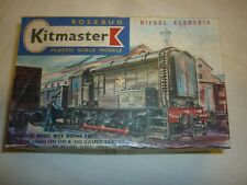Rosebud kitmaster  a built plastic kit of a Diesel Electric, boxed