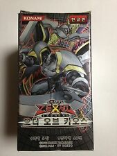 Yu-Gi-Oh Order of Chaos Booster Box, (Korean) Factory Sealed