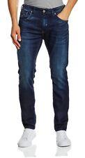 Duck and Cover Men Harlequin Stretch Slim Tapered Jeans Dark Wash Denim Pants 36 In. 34l