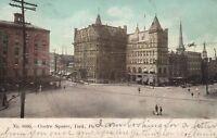 YORK PA CENTRE SQUARE 1906 UNDIVIDED ANTIQUE POSTCARD