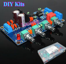 NE5532 Stereo Bass Treble Preamplifier Tone Board DIY Kits Preamp Volume Control