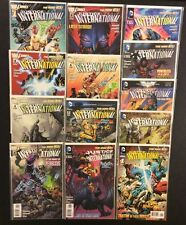JUSTICE LEAGUE INTERNATIONAL #1 - 12 Comic Books COMPLETE DC New 52 NM Batman
