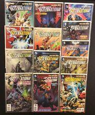 JUSTICE LEAGUE INTERNATIONAL #1 - 12 Comic Books COMPLETE DC New 52 NM Batman