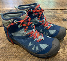 Merrell Capra mid Select Dry Grip 3m Teal/Grey Hiking Boots Size 7 Worn Once!!