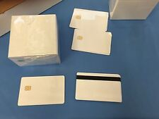 SLE 5542 Contact IC - Small Chip White PVC Smart Card - HiCo 2 Track - 1000 Pack