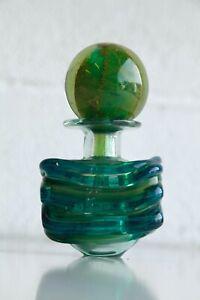 Beautiful Vintage Retro 1960s Mdina Perfume Bottle Decanter Vase