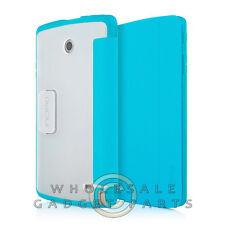 LG G Pad F 8.0 Incipio Folio Case - Cyan Case Cover Shell Protector Guard Shield