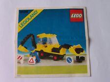 LEGO ® de recette/INSTRUCTION Nº 6686